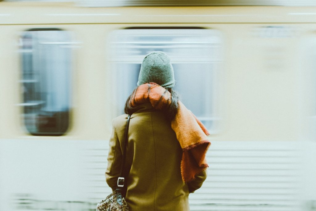 Auch in U-Bahnen kannst du mit der BahnCard 100 ticketlos reisen