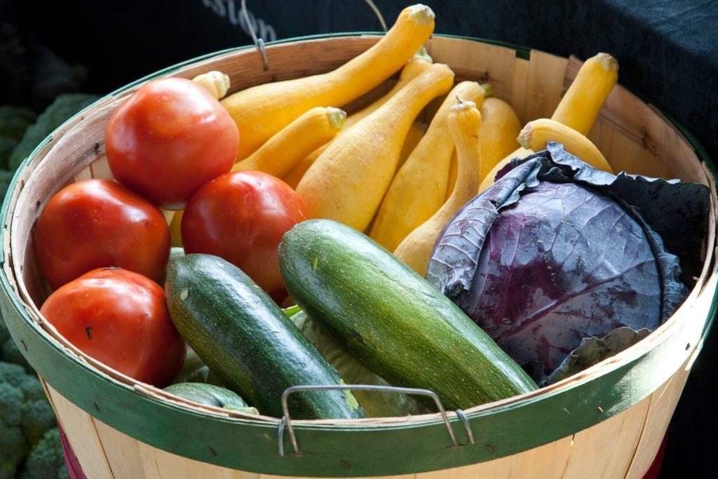 Ein Fonds ist mit einem Korb zu vergleichen –wenn jedes Gemüse für eine Aktie steht