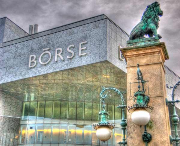 Die Börse in Zürich