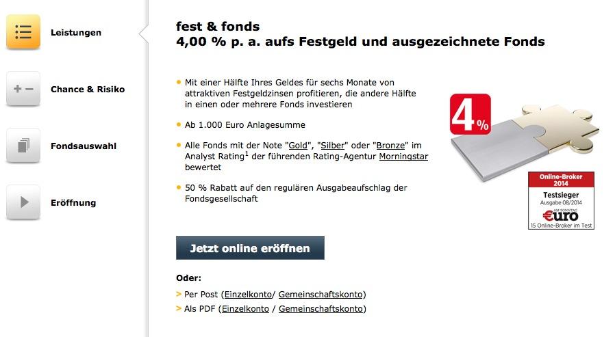 Comdirect Fest Und Fonds
