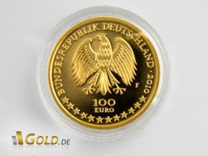 Goldmünzen kaufe ich bei gold.de