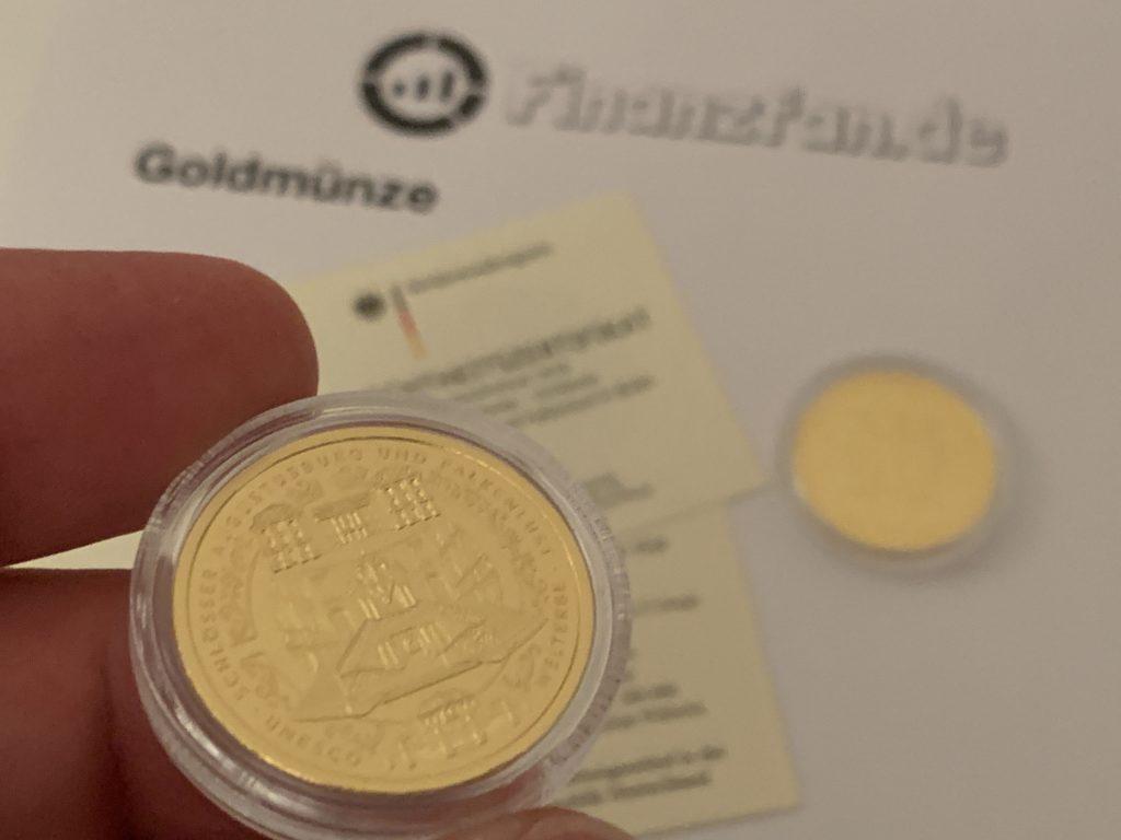 Goldmünze 2018